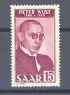 00121  -  Sarre  :  Mi  290  ** - 1947-56 Allierte Besetzung