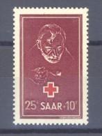 00123  -  Sarre  :  Mi  292  ** - 1947-56 Occupation Alliée
