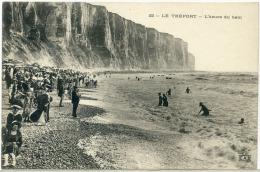 #3793 - Le Tréport 76 - L´heure Du Bain - Le Treport