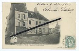 CPA - Rue Parent Réal - Ardres - Ardres