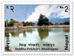 SIDHHA LAKE (POKHARI) NEPAL RS.2 STAMP NEPAL 2015 MINT MNH