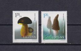 Lithuania mint (**) 1997 set stamp mycology mushroom