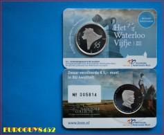 NEDERLAND - COINCARD 5 € 2015 BU - HET WATERLOO VIJFJE - Pays-Bas