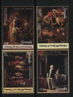Grenada  PAINTINGS - MUSEUM  MNH Sc 3415-18  Set Of 4 - Kunst