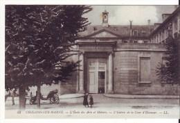 Cpa Chalons Sur Marne   école Des Arts Et Métiers - Châlons-sur-Marne