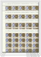1980 Vaticano Vatican BERNINI 40 Serie Di 4v. Foglio MNH** Sheets - Scultura