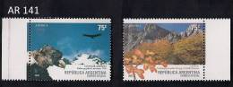 New series of Argentina of the year 2003 with topic Mountains (AR 141)
