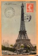 La Tour Eiffel Paris 1910 Postcard - Tour Eiffel