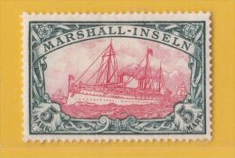 MiNr. 27 Xx  Deutschland Deutsche Kolonie Marshall-Insel - Colonie: Marshall