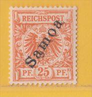 Nr. 5 Xx  Deutschland Deutsche Kolonie Samoa - Colony: Samoa