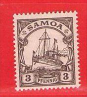 Nr. 7 Xx  Deutschland Deutsche Kolonie Samoa - Colony: Samoa