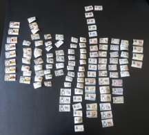 117 different stamps from Fujeira, Amman, Al Qiwain [#3096]