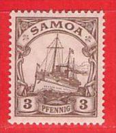 Nr. 20 Xx  Deutschland Deutsche Kolonie Samoa - Colony: Samoa