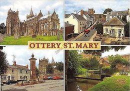 Devon Postcard Ottery St Mary X0 025 - Angleterre
