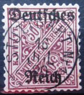 WURTEMBERG                Service N° 141                 OBLITERE - Wurttemberg