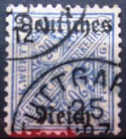 WURTEMBERG                Service N° 138                 OBLITERE - Wurttemberg