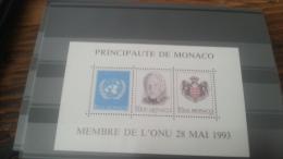 LOT 264931 TIMBRE DE MONACO NEUF** LUXE