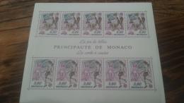 LOT 264959 TIMBRE DE MONACO NEUF** LUXE BLOC