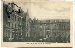 - Bonn - St-Marien- Hospital Am Venusberg, Cliché Peu Courant, écrite En 1923, épaisse, TBE, Scans. - Bonn