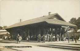 242781-Pennsylvania, Tunkhannock, RPPC, Lehigh Valley Railroad Station, Depot, Photo No 105 - Gares - Sans Trains