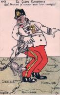 Guerre 14-18, La Guerre Européenne, Humour Par Minouvis, Litho (1003) - Guerra 1914-18