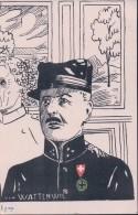 Armée Suisse, Officier Von Wattenwyl, Litho (626) - Personnages
