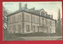 MNP-17  Chavroche Allier Château Du Verger.  Cachet 1915 - Frankrijk