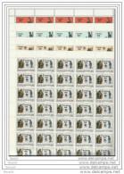 1981 Vaticano Vatican LOURDES 40 Serie Di 4v. In Foglio MNH** Sheet - Nuovi