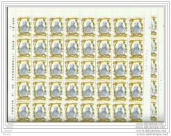 1981 Vaticano Vatican RUUSBROEC 40 S.di 2v.Foglio Sheet MNH** - Nuovi