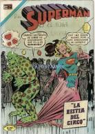12039 MAGAZINE REVISTA MEXICANAS COMIC SUPERMAN LA BESTIA DEL CIRCO Nº 796 AÑO 1971 ED EN NOVARO - Bücher, Zeitschriften, Comics