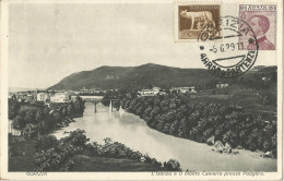 _5pk-798:GORIZIA - L'Isonzo E Il Monte Calvario Presso Podgora +  N° 224+179 1929 > Anvers. - Gorizia