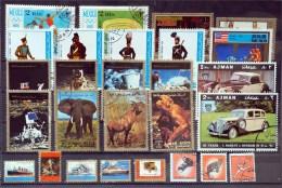 Ajman State- Lot Stamps (ST202) - Ajman