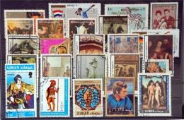 Ajman State- Lot Stamps (ST206) - Adschman