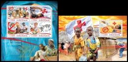 tg15309ab Togo 2015 Fight against malaria 2 s/s