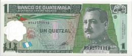GUATEMALA - 1 Quetzal 2014 Polymer - UNC - Guatemala