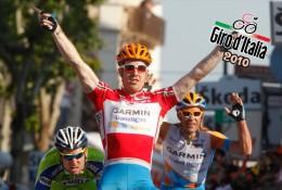 Postcard, Giro D´Italia 2010, Stage 10, Avellino To Bitonto, 18 May, Tyler Farrar, USA, Garmin-Transitions - Cycling