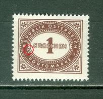 Autriche   Taxe  ANK  204 II     * *   TB - Varietà & Curiosità