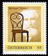 ÖSTERREICH 2009** Michael THONET / Erfinder Von Bugholzmöbel - PM Personalisierte Marke MNH - Sciences