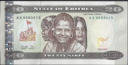 ERYTHREE - 20 Nakfa 1997 - UNC - Erythrée