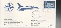 Belgique : Avion : Poste Aérienne. F - 16. - Airmail