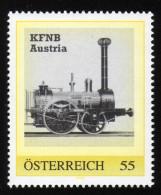 ÖSTERREICH 2007 ** Eisenbahn, Train KFNB Austria - PM Personalized Stamp MNH - Private Stamps