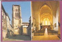 24.- SAINTE ASTIER  .-L ' Eglise  ( Carte Tissée ) - Sonstige Gemeinden