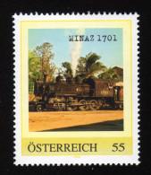 ÖSTERREICH 2007 ** Lokomotive MINAZ 1701 - PM Personalized Stamps - MNH - Private Stamps