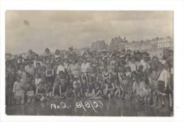 12621 - Hastinga Carte Photo (Weeks Pearson) Groupe Enfants, Femmes Et Hommes Réunion En 1921 - Hastings