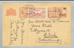Nederl.Indie Buitenzorg 1929-12-17 GS-Luftpost Brief Nach Zürich - Netherlands Indies