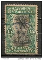 Timbres - Afrique - Congo Belge - 1915 - 15 Cent. -
