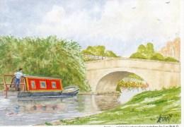 Postcard - The Leeds Liverpool Canal At Lathom By Les Bott, Lancashire. LB - Altri