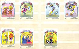 WALT DISNEY CARTOON Stamps Francobolli--GRENADA GRENADINES EASTER 1984-MINT MNH- - Grenada (...-1974)