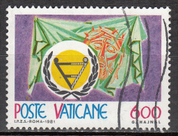 Vatican City   Scott No   691     Used    Year  1981 - Used Stamps