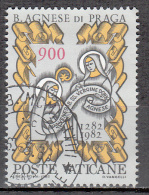 Vatican City   Scott No   706     Used    Year  1982 - Used Stamps